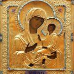 11 Madre di Dio di Tichvin con riza