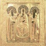Madre di Dio Pecerskaja, icone da collezione, antiche icone russe, ikon rus'