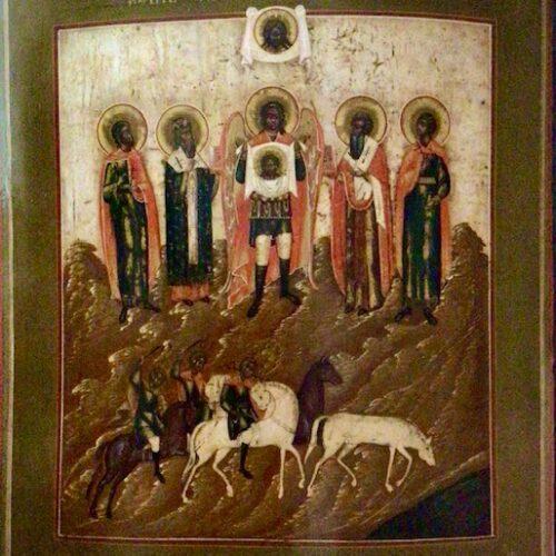 antiche icone russe, arte per collezionisti,