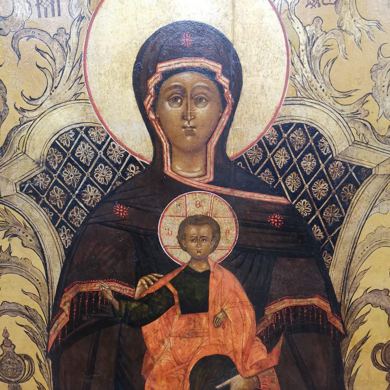Madre di Dio Panaghia particolare
