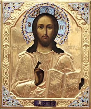 Cristo Pantocratore, Icone da collezione
