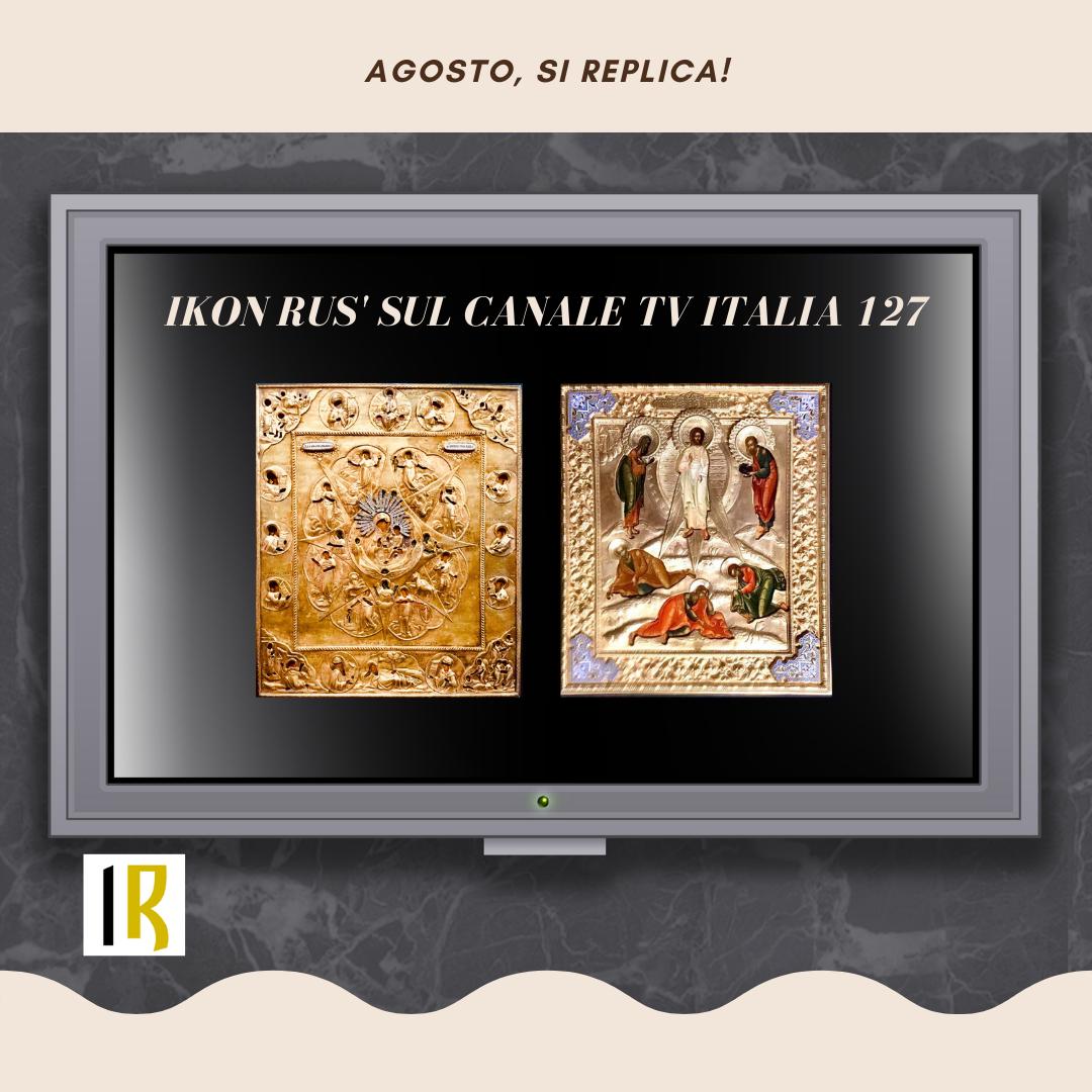 Ikon Rus' - televendita iconeCanale TV Italia 127